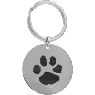 Front image of Circle Keyring