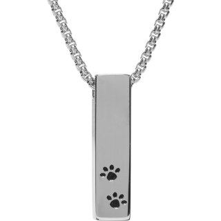 Front image of Paw Bar Keepsake (Urn)